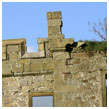 Crenelations/Parapet: Hellifield Peel Prior to Restoration